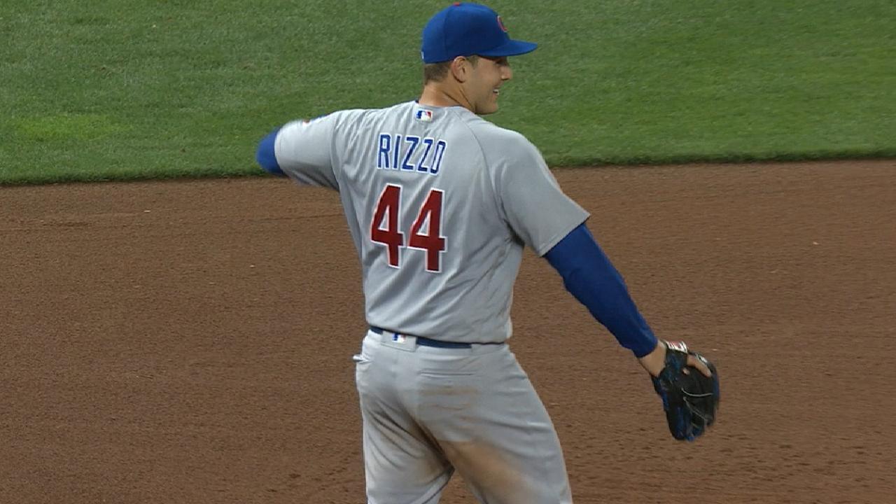Anthony Rizzo, el primer tercera base zurdo en 20 años