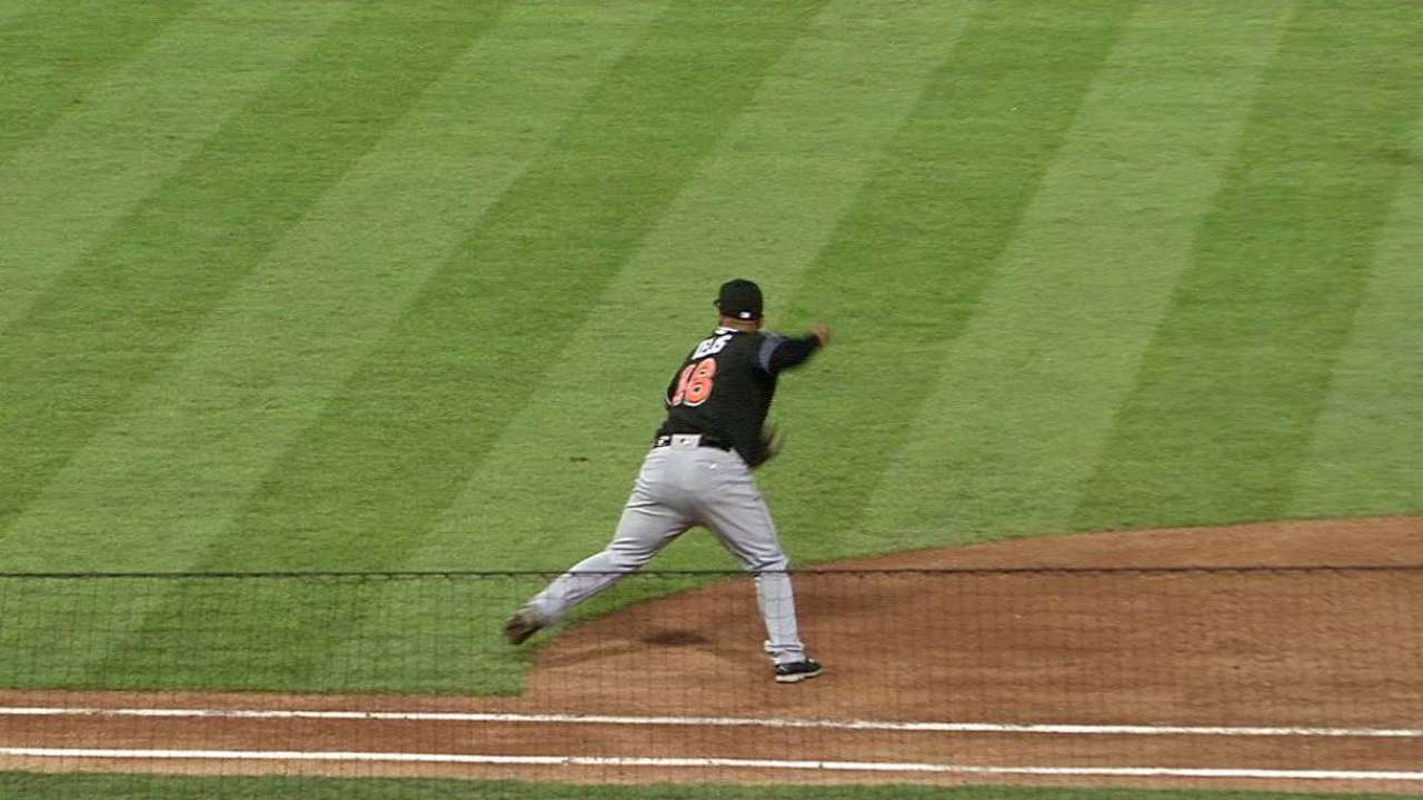Nicolino struggles, as Marlins can't solve Leiter