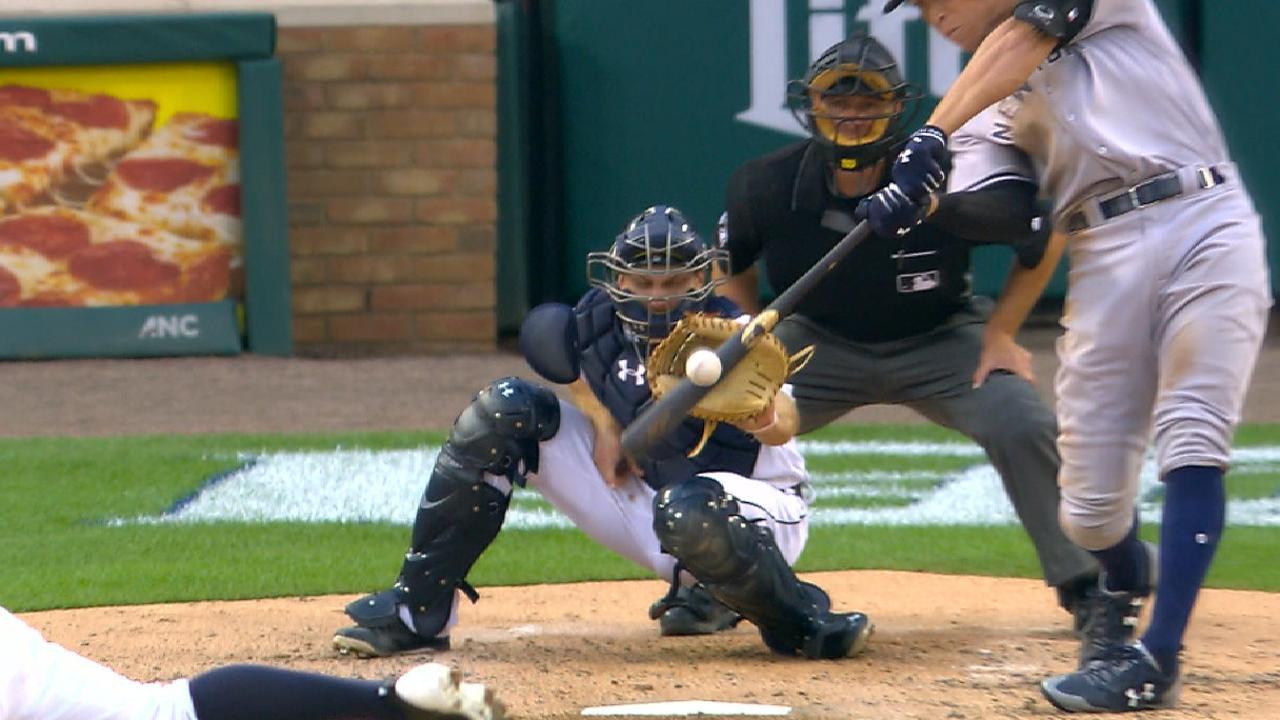 Yankees' five-run 3rd