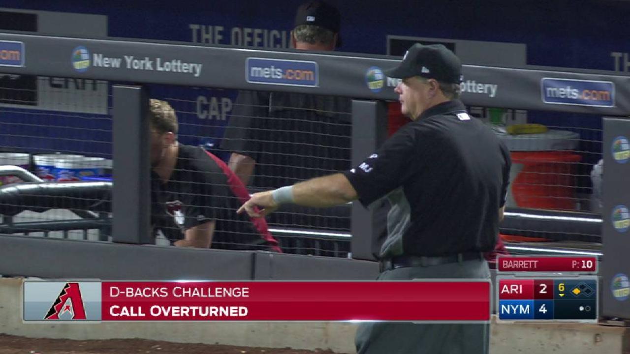 D-backs win challenge for DP