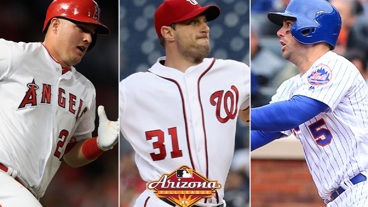 Trout, Scherzer, Wright join Fall League Hall of Fame
