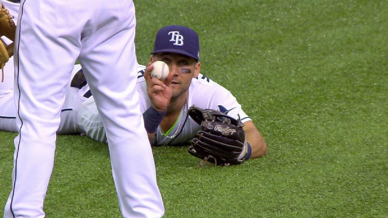 Kiermaier's diving catch