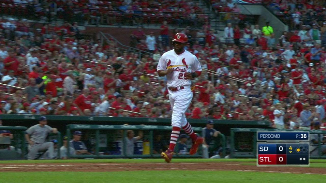 Gyorko's RBI double