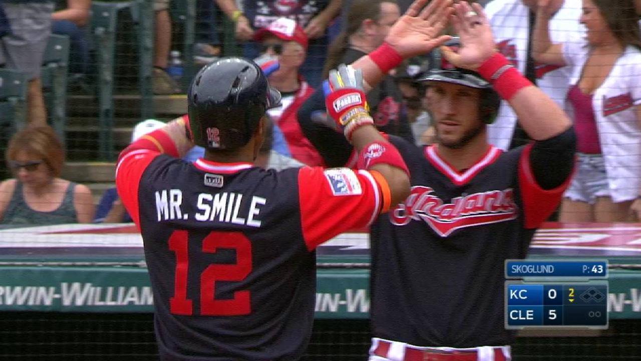 Lindor's two-run home run