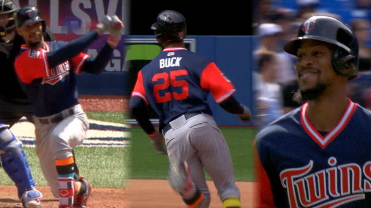 Buxton living up to vast potential