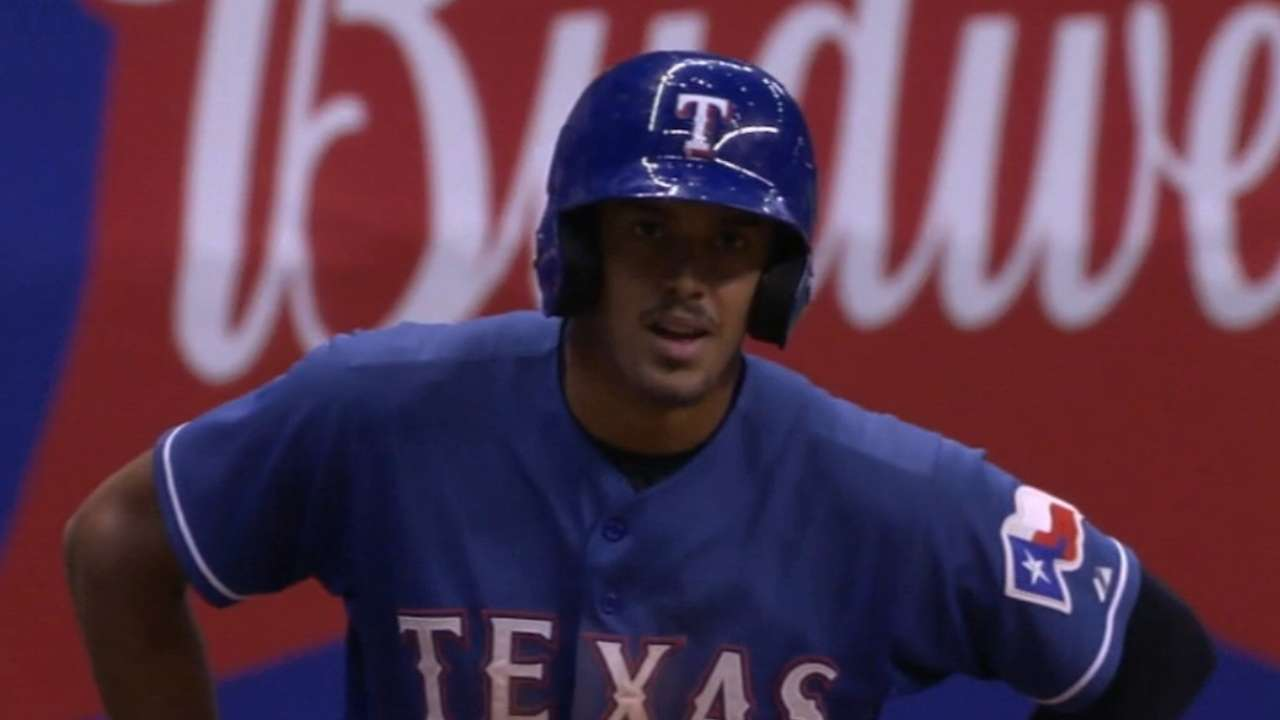 Cody, Guzman named Rangers Prospects of the Year