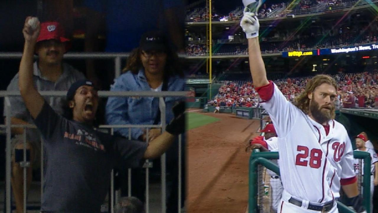 Werth's monster two-run jack