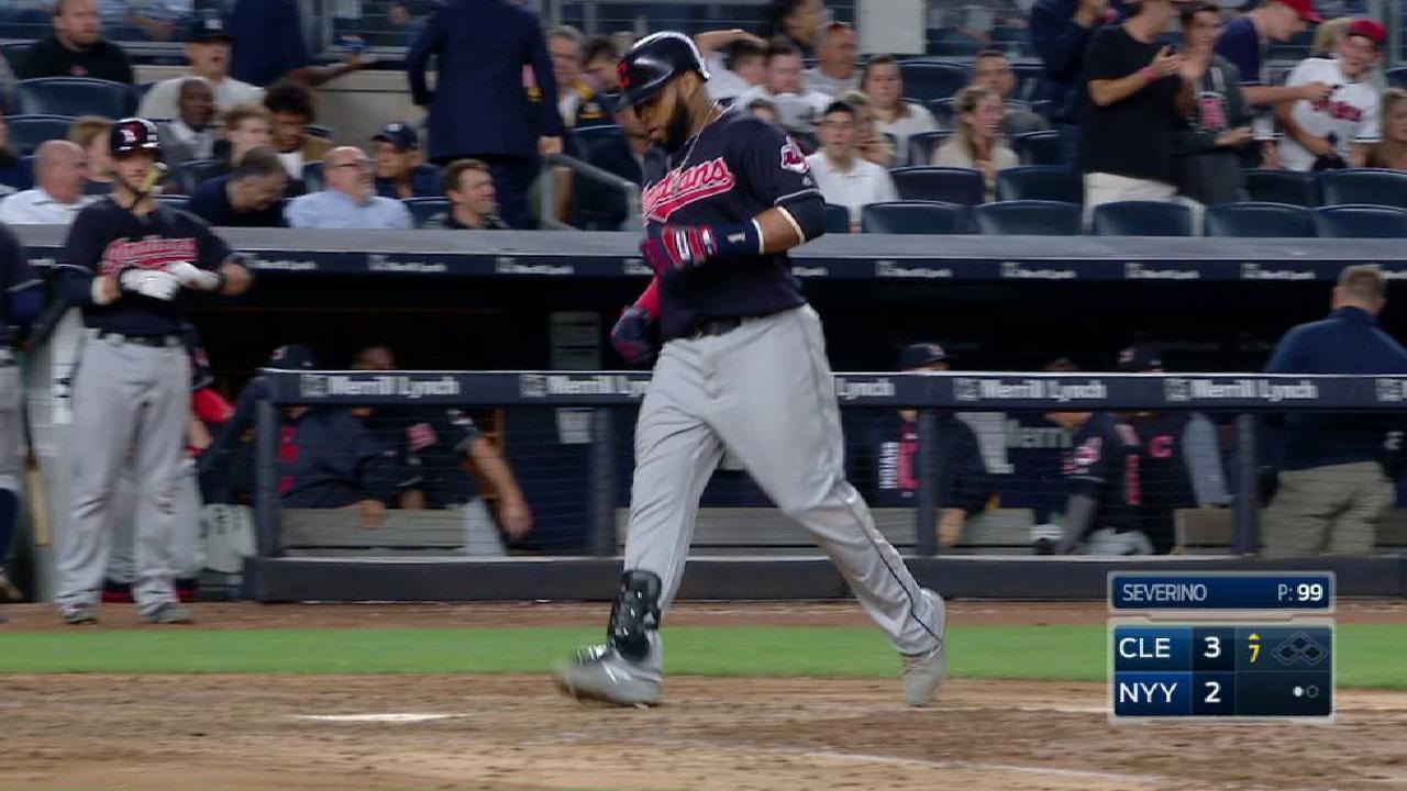 Santana's go-ahead solo homer