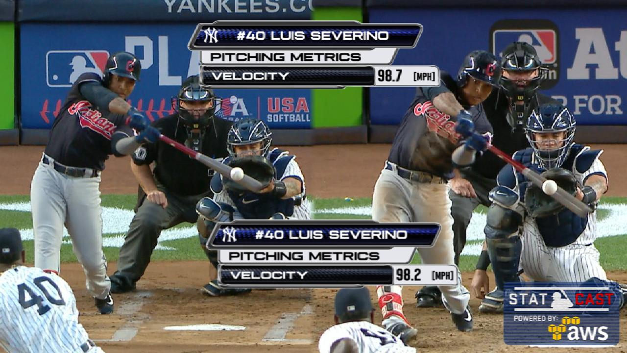 Statcast: Ramirez's two homers