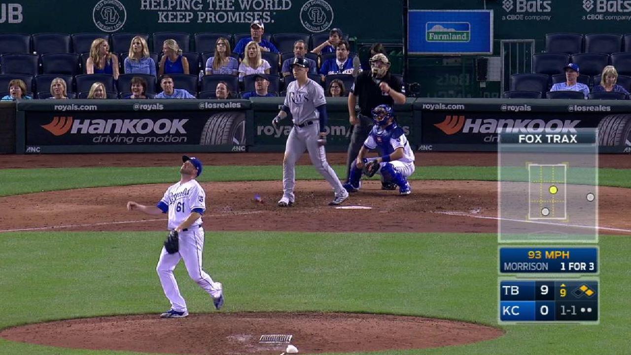 Morrison's three-run homer