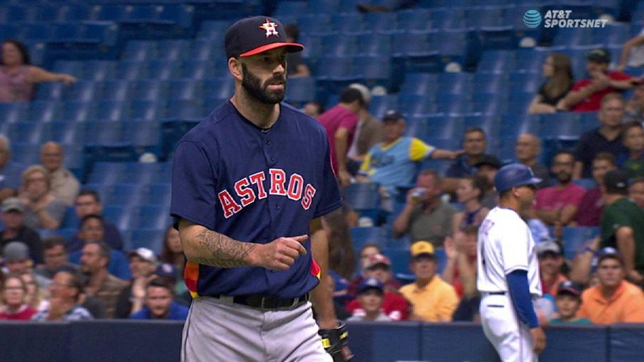Fiers moved to Astros' bullpen