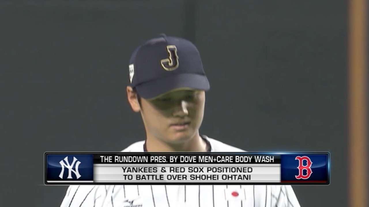 Dipoto checks out Ohtani on Japan scouting trip