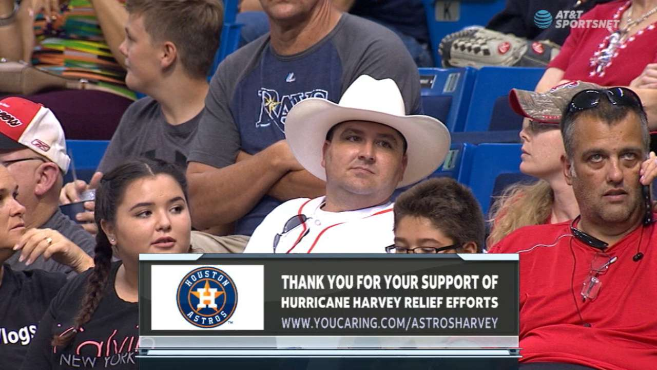 Astros set up relief program