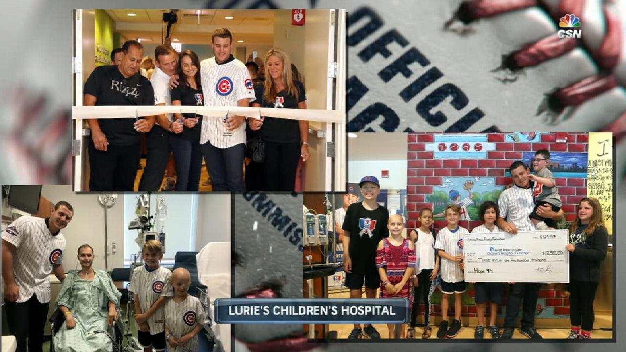 Rizzo donates to hospital