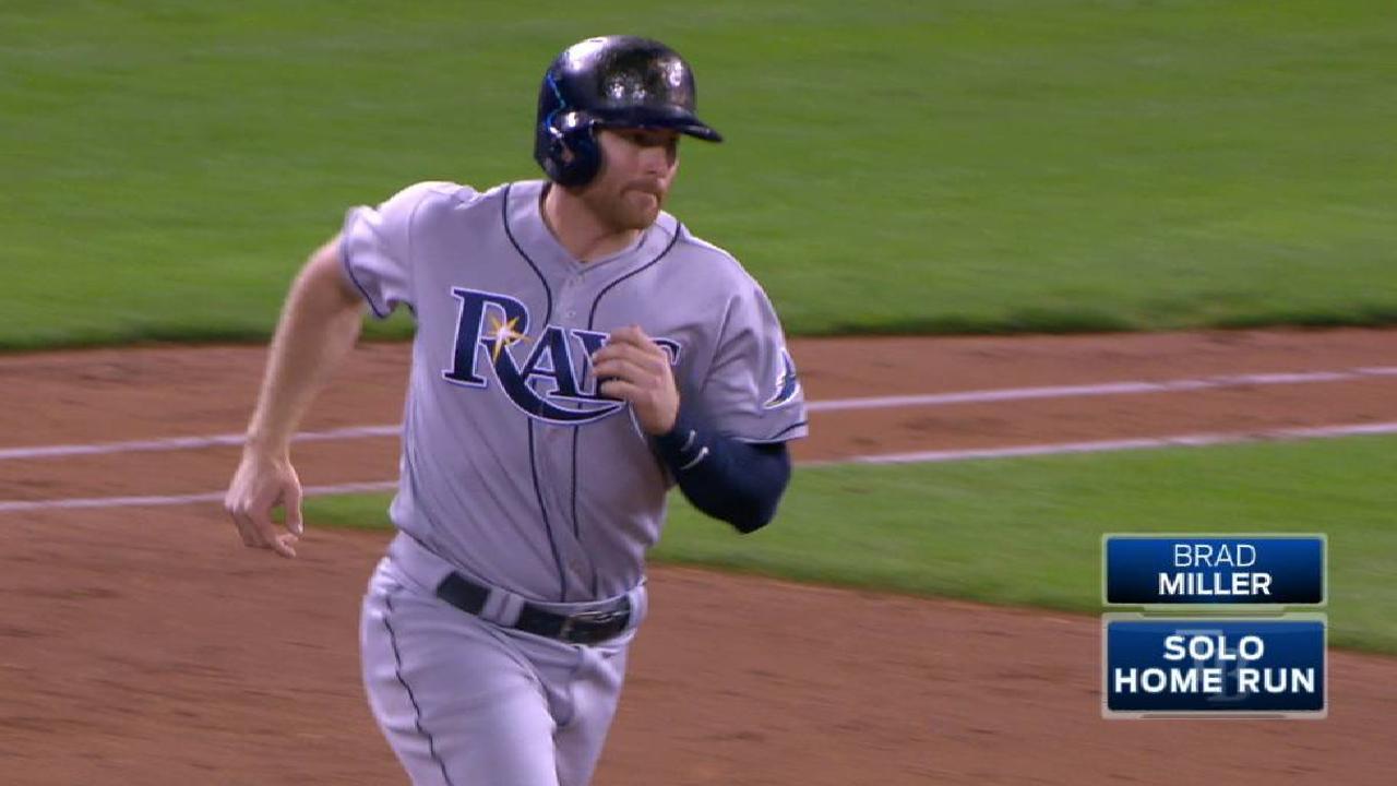 Miller's solo home run