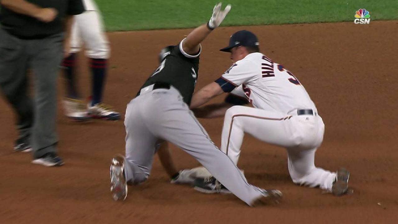 Abreu's bloop RBI double