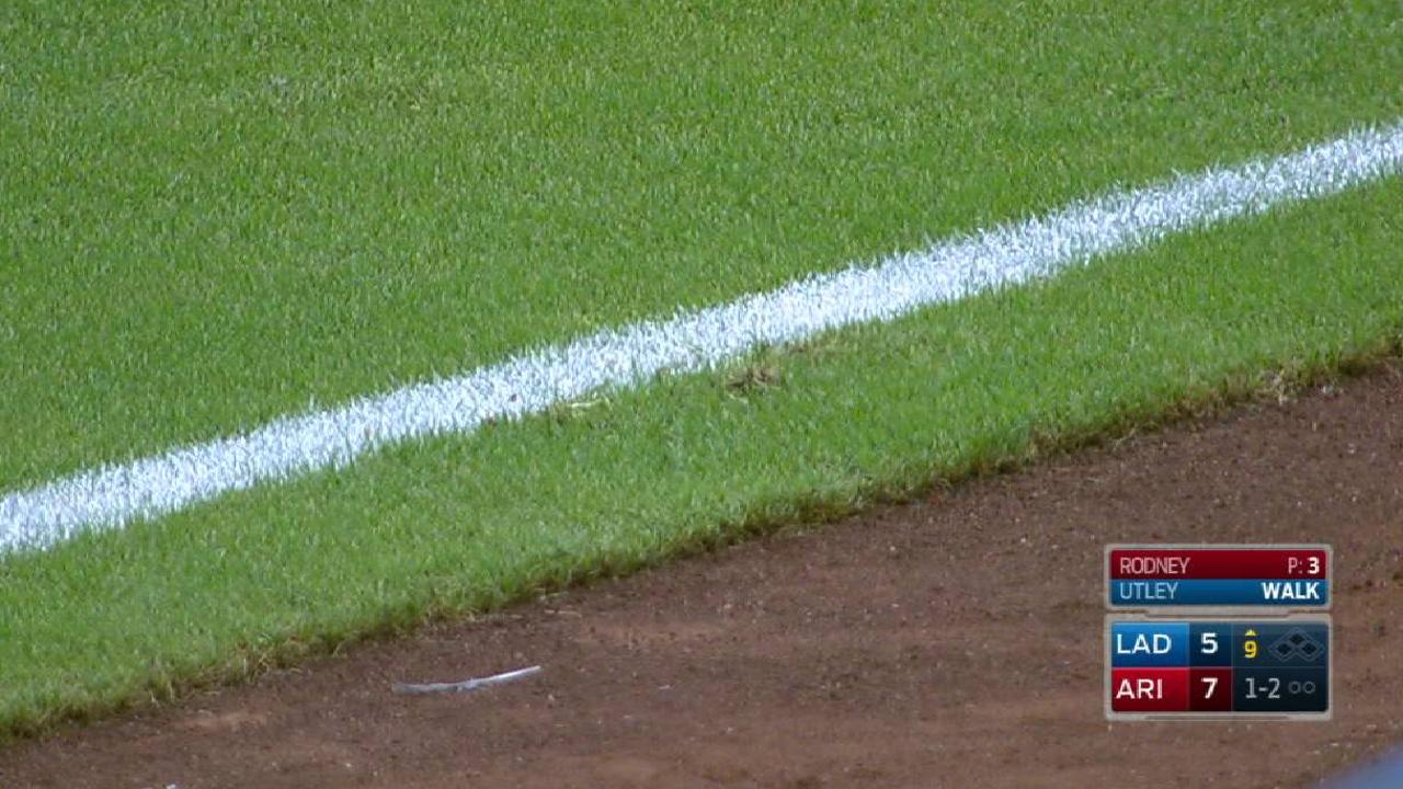 Ball ruled foul after review