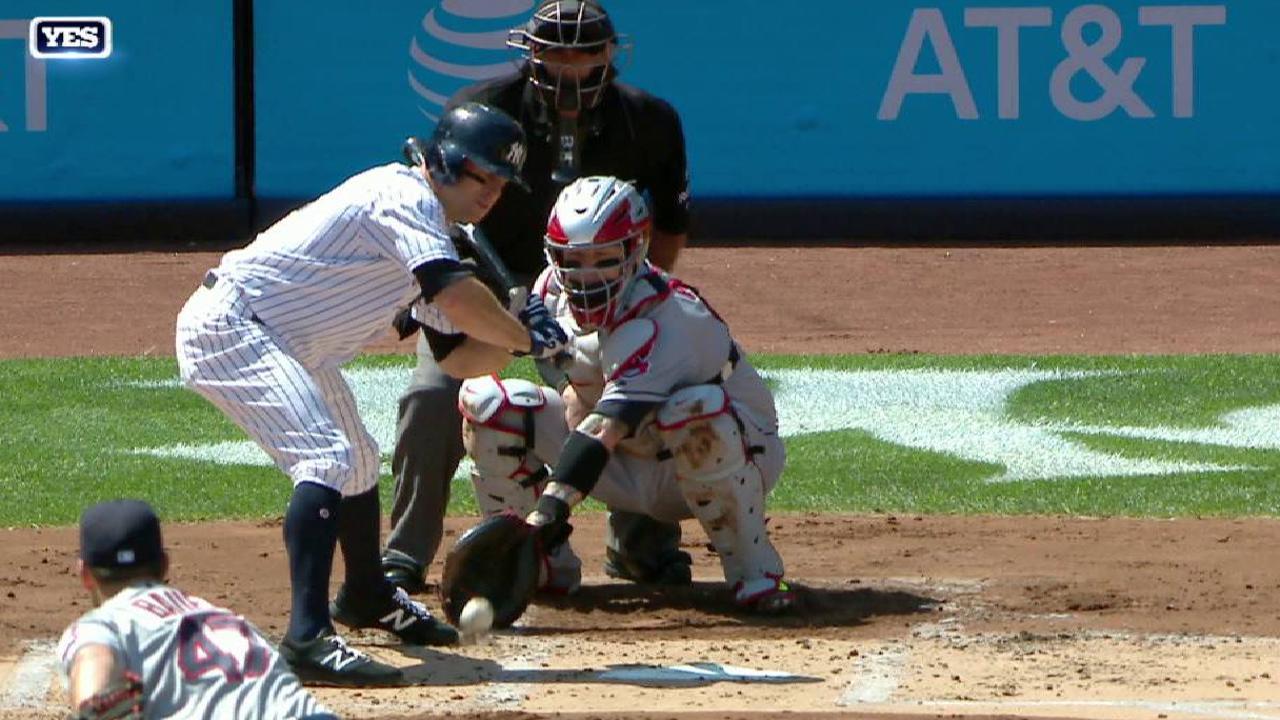 Yankees win challenge in 1st