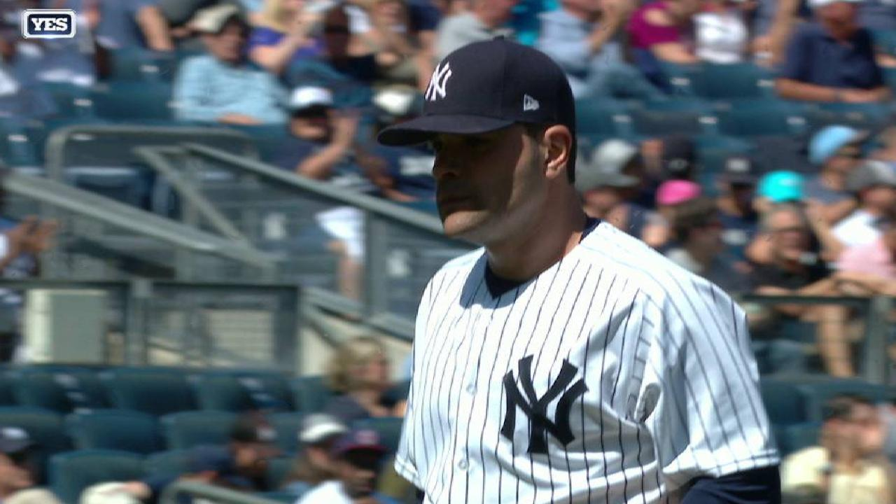 Patient Garcia awaits next turn in rotation