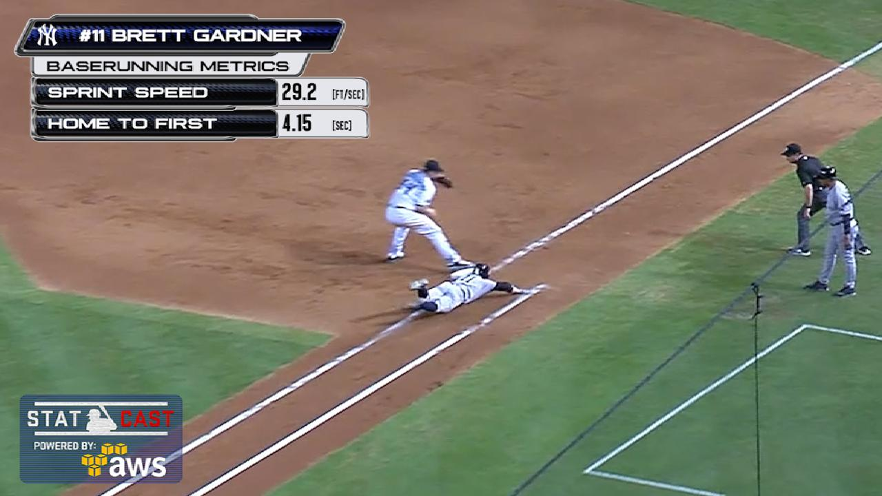 Run or slide into first base? Let's ask Statcast