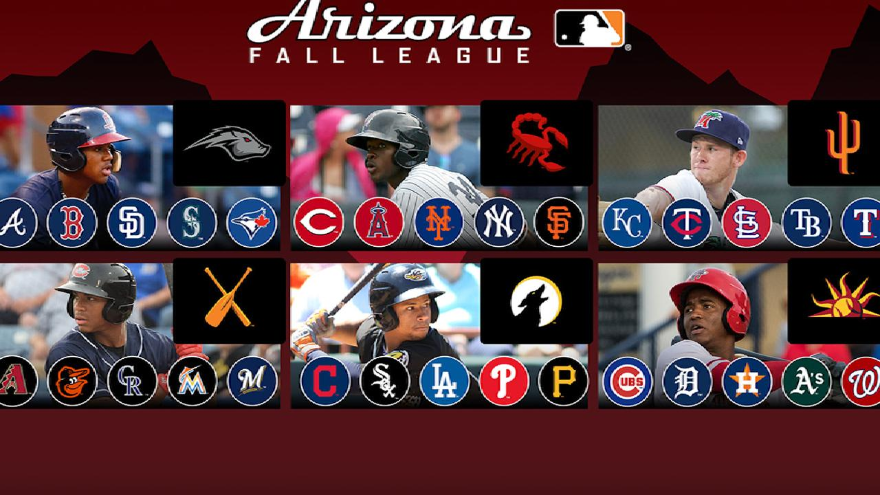 5-tool phenoms Robles, Acuna, Tucker highlight AFL rosters