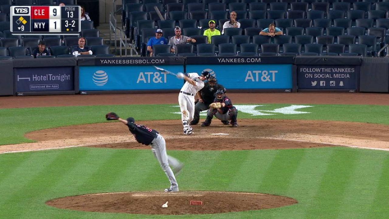 Bird's three-run homer
