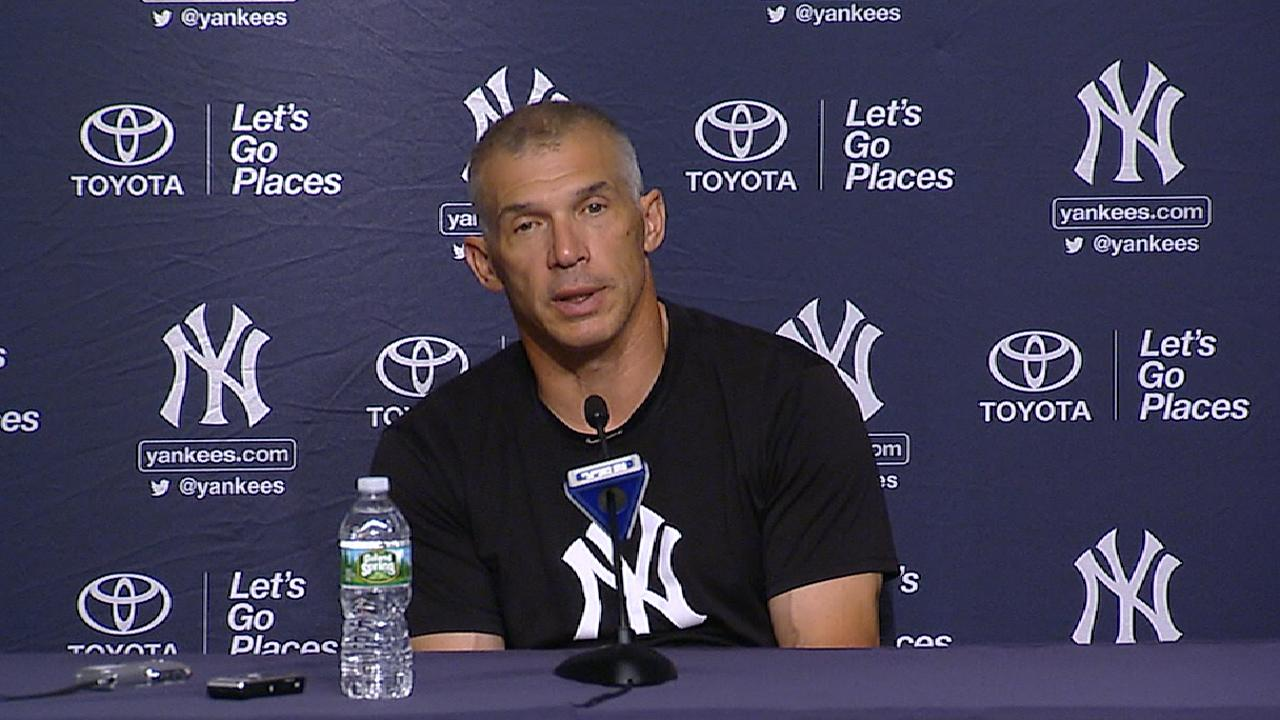 Girardi on losses to the Indians