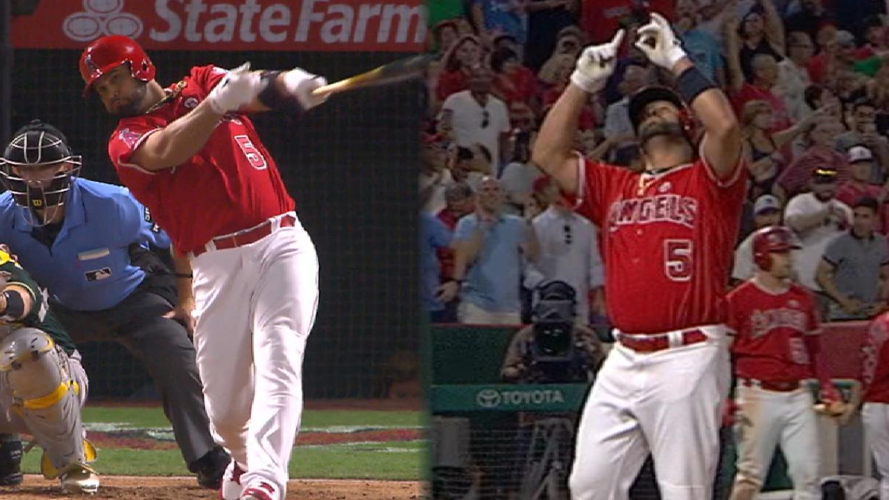 Pujols' two-homer game