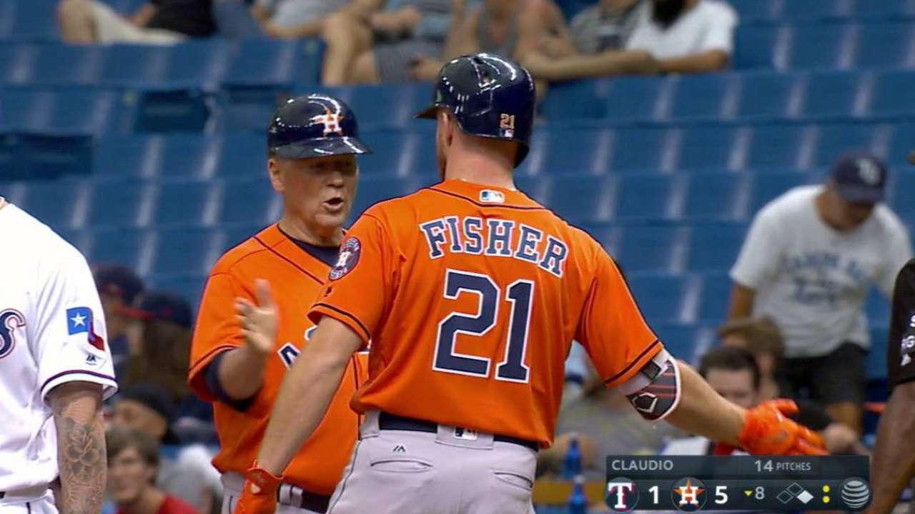 Fisher's two-run single