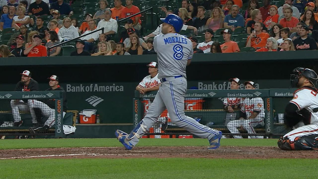 Morales makes history with offensive outburst
