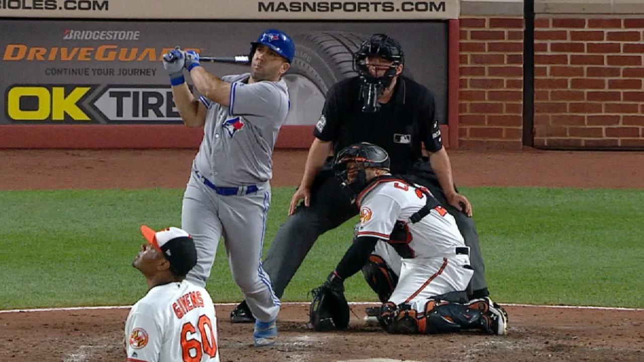 Morales' three-homer night