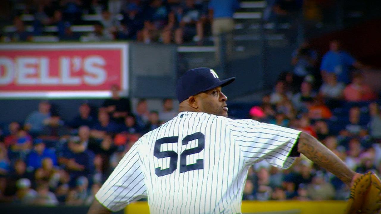 Sabathia's six strong innings