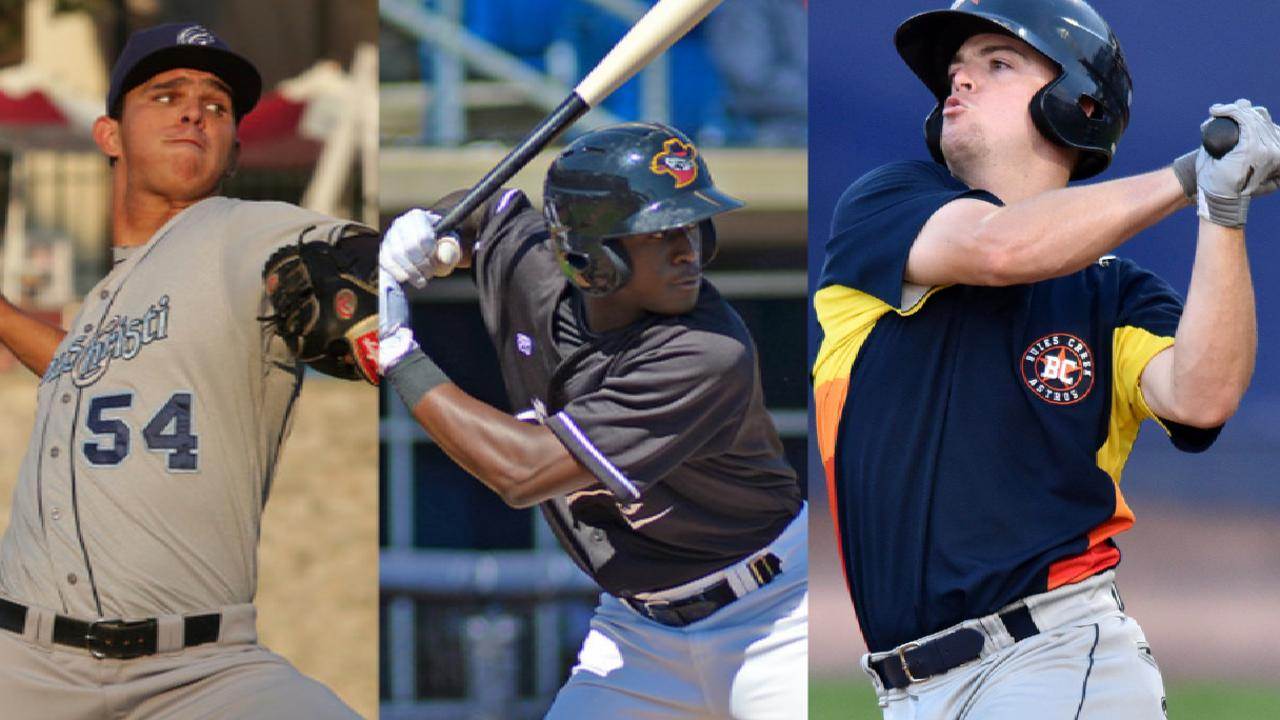 Prospect trio headed to Tigers