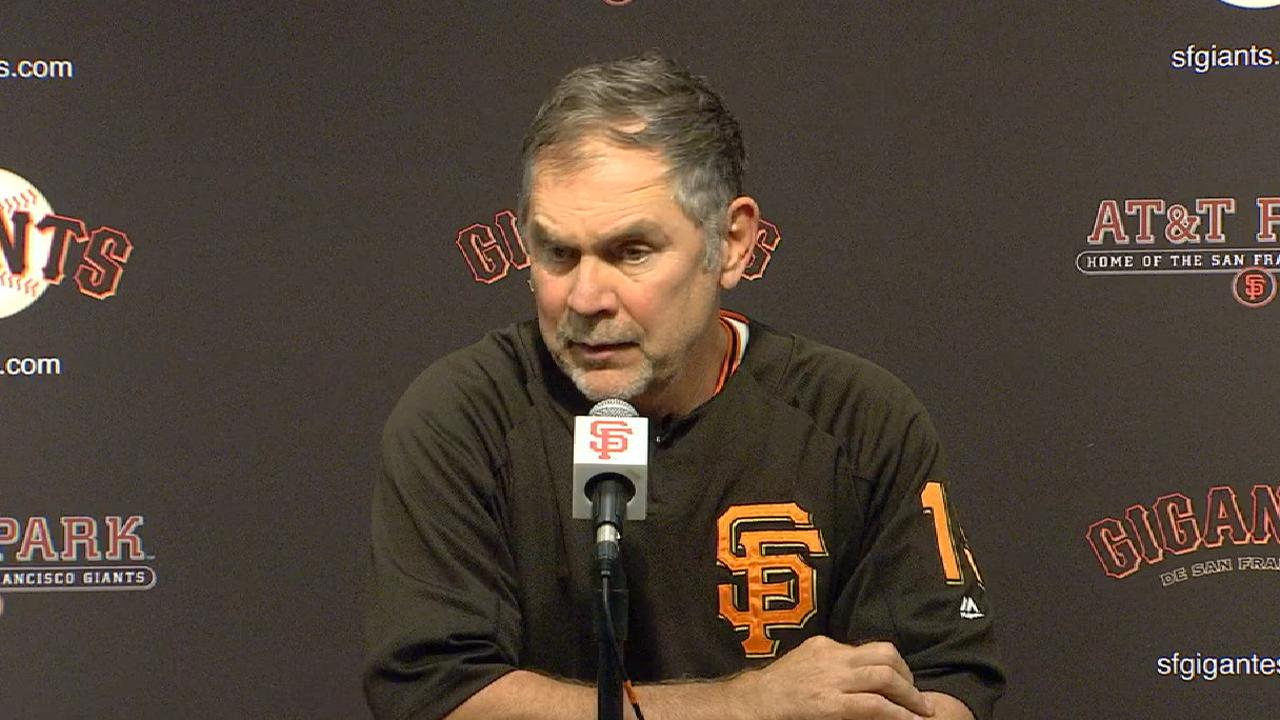 Bochy on late overturned HR