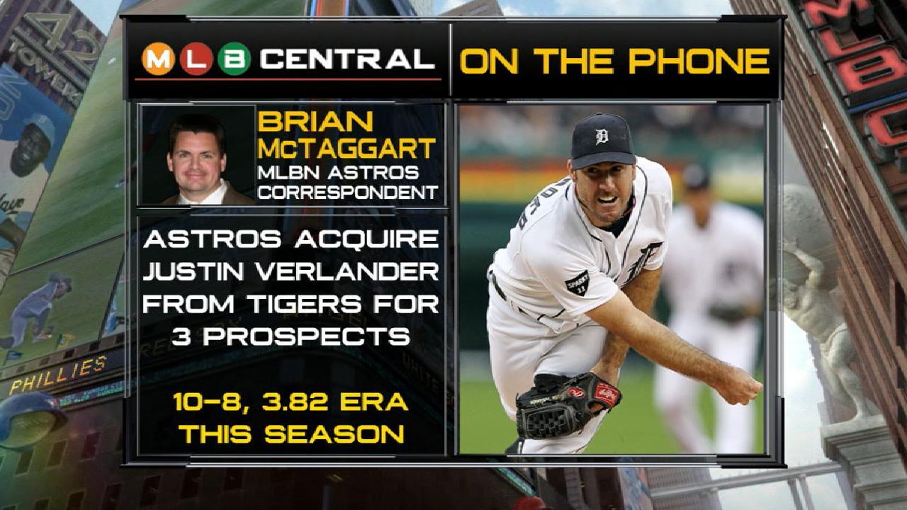 Verlander to make Astros debut on Tuesday