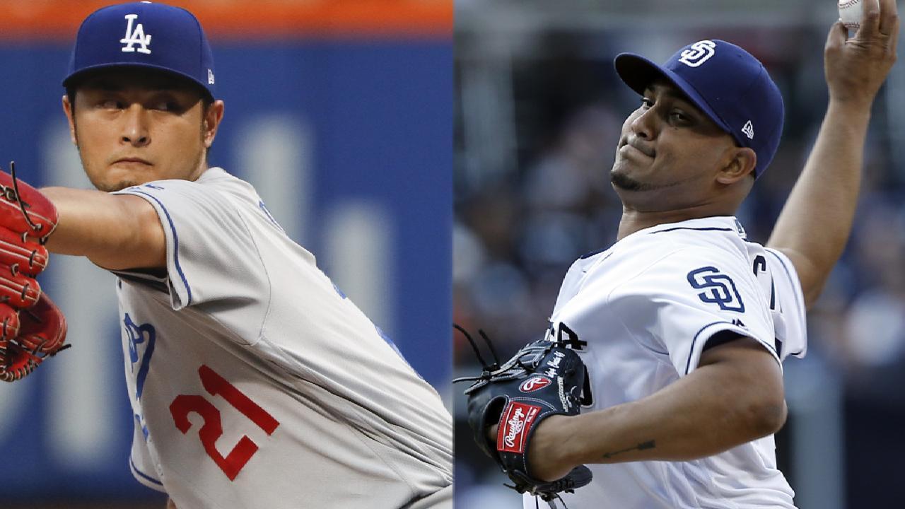 Darvish vs. Chacin