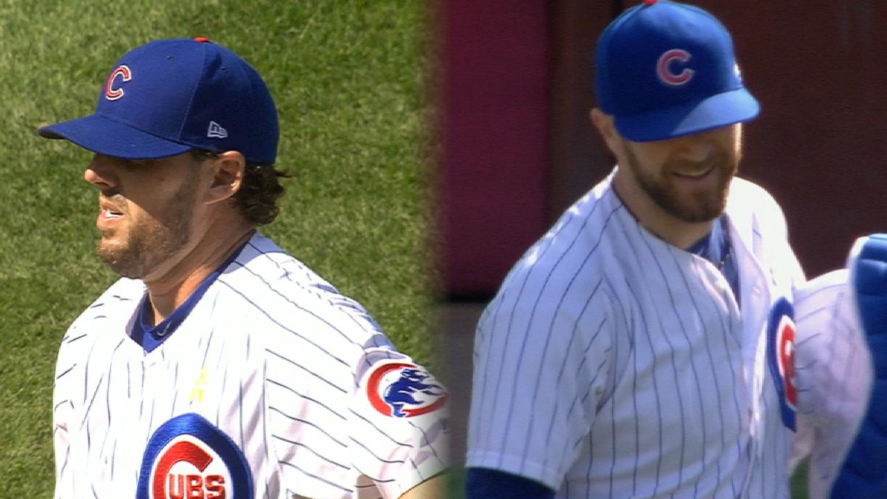Cubs reach high point with 5th win in a row