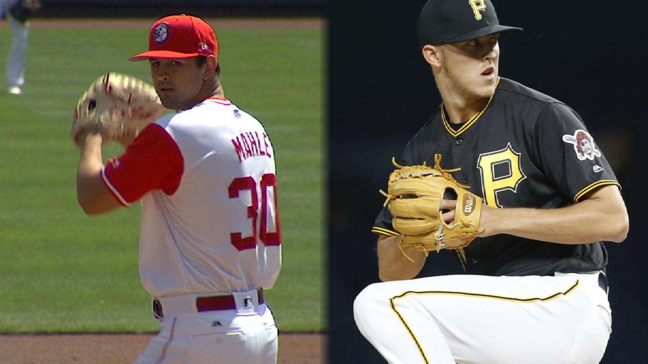 Big young arms to square off in Pittsburgh