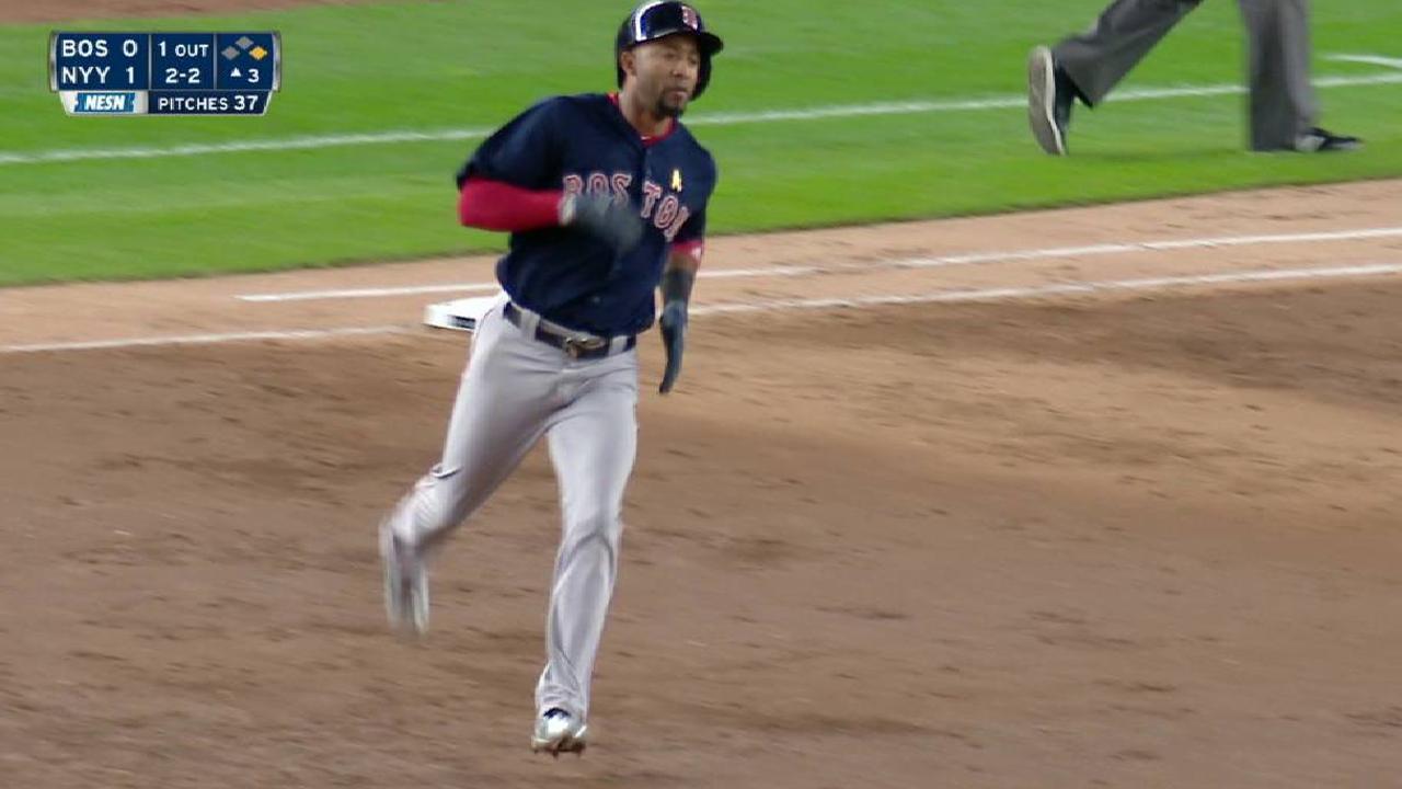 Nunez's two-run homer