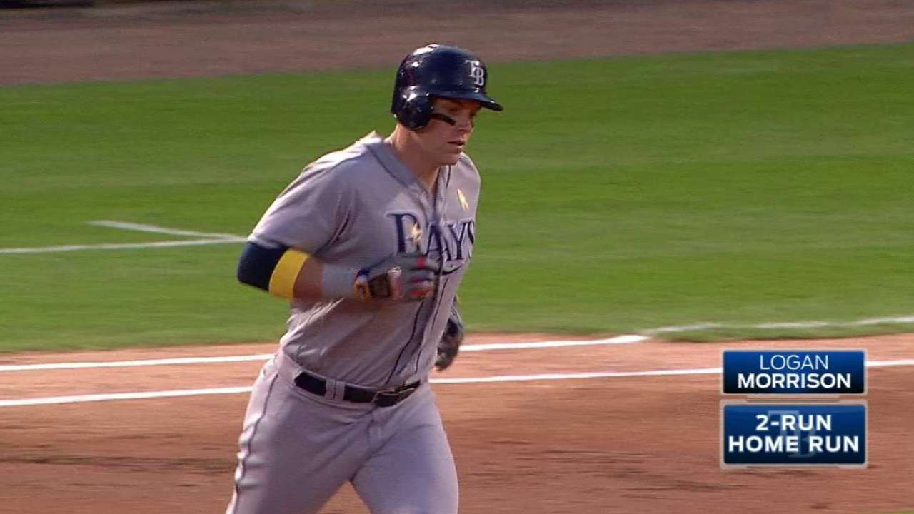LoMo keeps powering Rays during career year