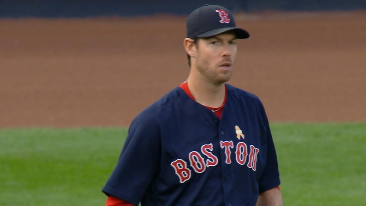 Fister strikes out five