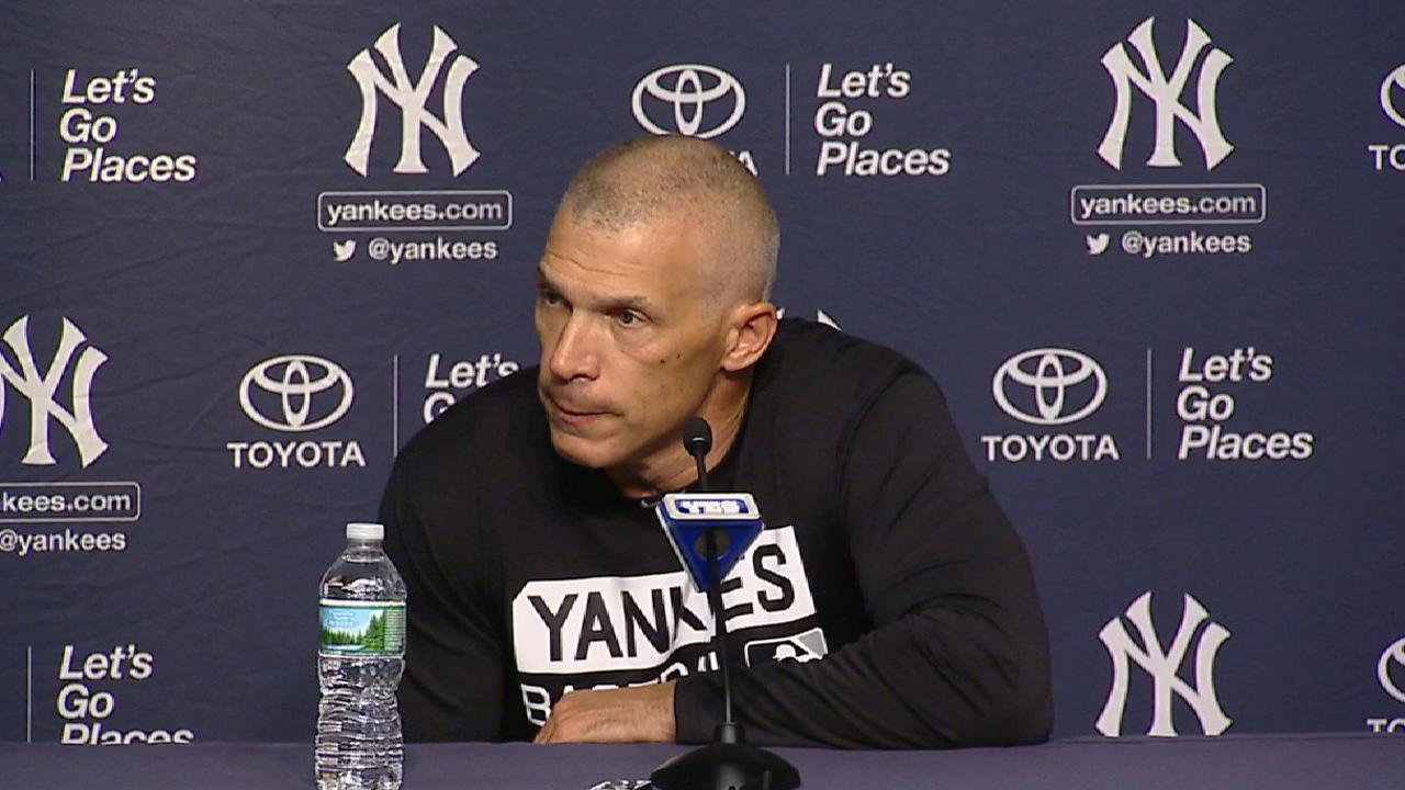 Girardi on loss to Red Sox