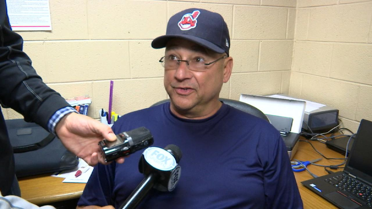 Francona on 10-0 win over Tigers