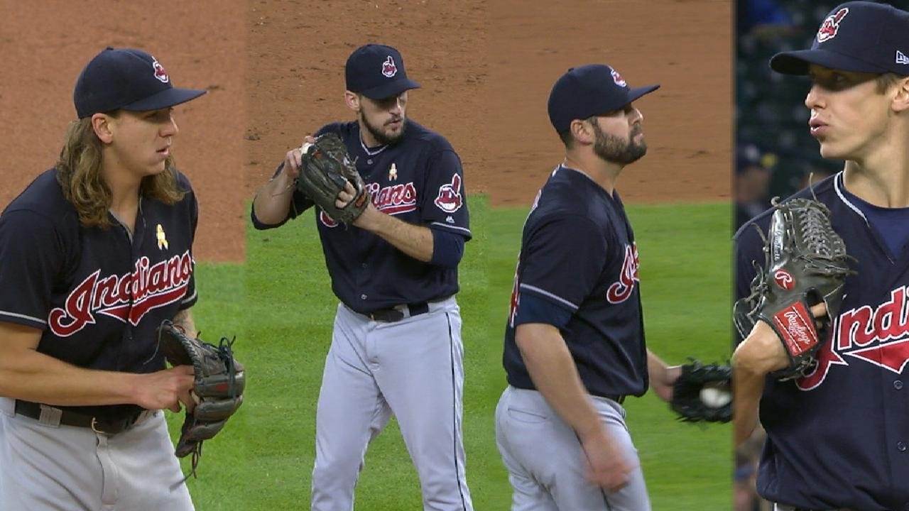 Indians shut out Tigers for 9th straight victory
