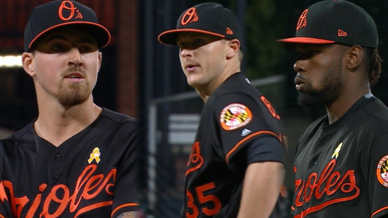 Gausman, defense key 13-inning shutout