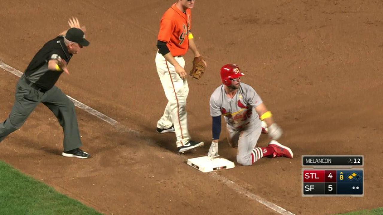Garcia's game-tying RBI triple
