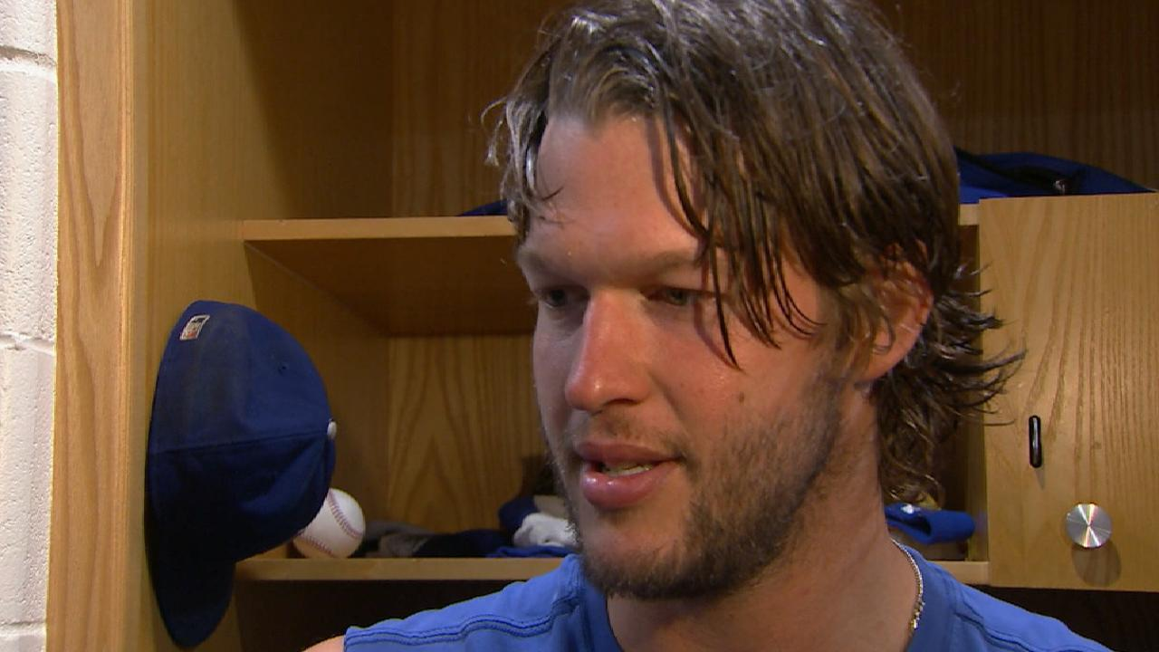 Kershaw on win over Padres