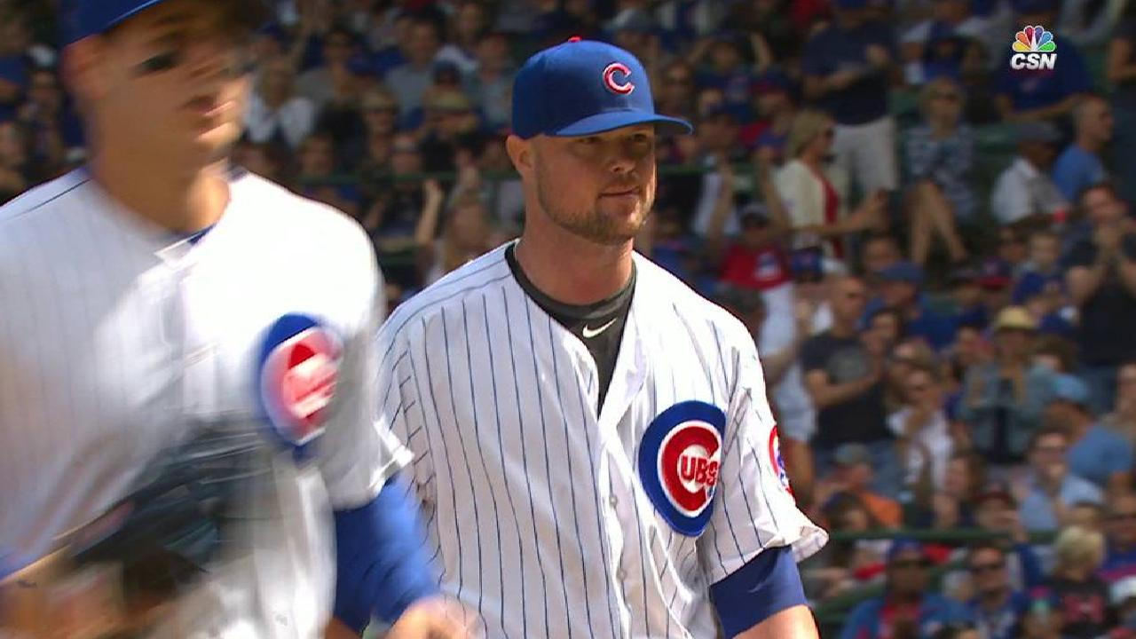 Lester gets out of the 1st
