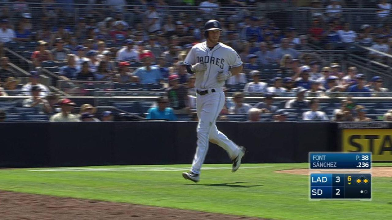 Sanchez's RBI groundout