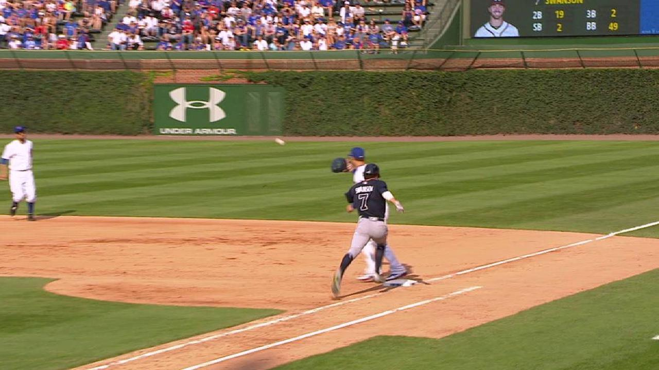 Swanson's single after review